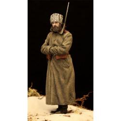 Soldado ruso de guardia.