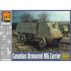 Canadian armoured MG carrier.
