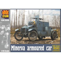 Minerva armoured car.