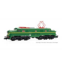 Locomotora 277.011 (verde-amarillo), RENFE.