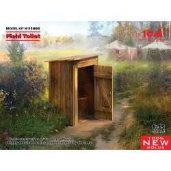 Field toilet.
