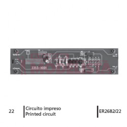 PCB for RENFE 269.