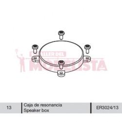 Caja de resonancia para 7800 RENFE.