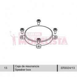Sound chamber for locomitves 7800 RENFE.