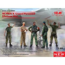 US pilots and ground personnel.