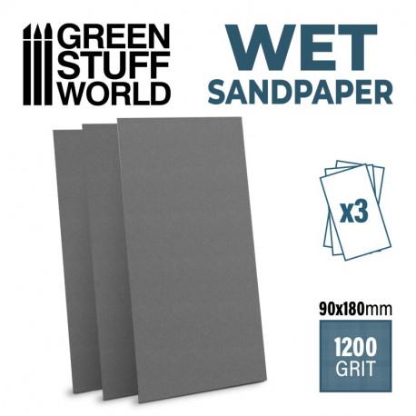 Wet sandpaper 1200 grit (x3).
