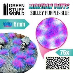 Matas de césped alien, sully azul-púrpura (6 mm).