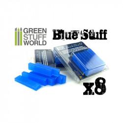 Blue Stuff Mold 8 bars.