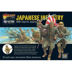Infantería japonesa. WWII.
