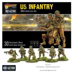 US Infantry set. WWII.
