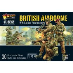 Paracaidistas británicos. WWII.
