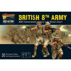British 8th Army set. Bolt Action.