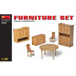 Furniture set. MINIART 35548
