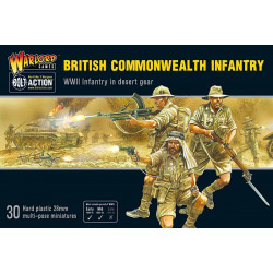 British Commonwealth Army set. Bolt Action.
