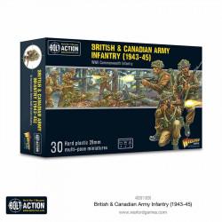 Infantería del ejército británico y canadiense. Bolt Action.