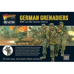 German grenadiers set. Bolt Action.