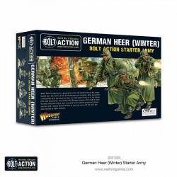 German Heer (winter) starter army. Bolt Action.
