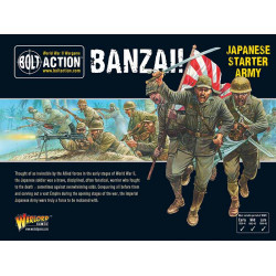 Banzai! Imperial Japanese Starter Army. Bolt Action.