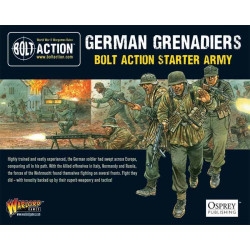 German grenaders. Bolt Action starter army.