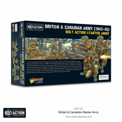 British & Canadian Army (1943-45). Bolt Action starter army.