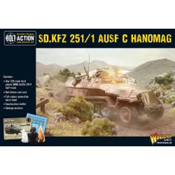 Sd.Kfz 251 C Hanomag. Bolt Action.