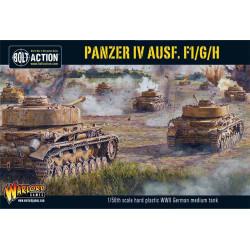 Panzer IV Ausf. Medium tank F1 / G / H. Bolt Action.