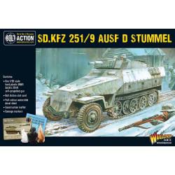 Sd.Kfz 251/9 Ausf D (Stummel). Bolt Action.