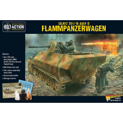 Sd.Kfz 251/16 Flammpanzerwagen. Bolt Action.