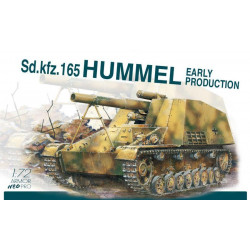 Sd.Kfz.165 Hummel, versión inicial.