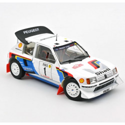 Peugeot 205 T16 Rally Monte Carlo.