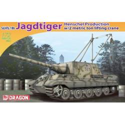 Sd.Kfz.186 Jagdtiger, producción Henschel.
