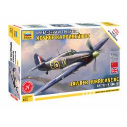 British fighter Hurricane Mk.II.C.