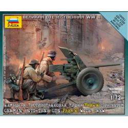 German anti-tank gun. ZVEZDA 6114
