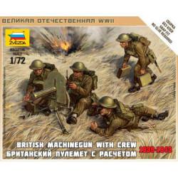 British machine gun Vickers. ZVEZDA 6167