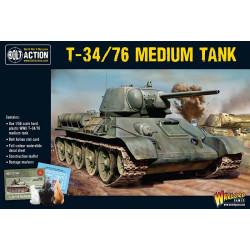 T34/76 Medium Tank. Bolt Action.
