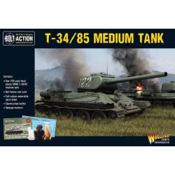 T-34/85 Medium Tank. Bolt Action.