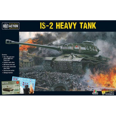 IS-2 Heavy Tank. Bolt Action.