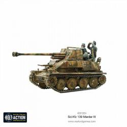 SD.KFZ 139 Marder III. Bolt Action.