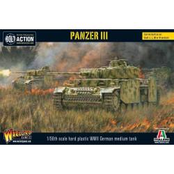 Panzer III. Bolt Action.