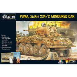 Puma Sd.Kfz 234/2 Armoured Car. Bolt Action.