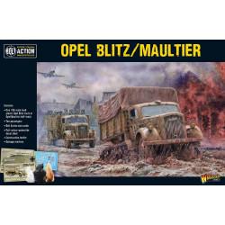 Opel Blitz / Maultier. Bolt Action.