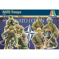 NATO troops.