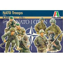 Tropas de la OTAN años 80.