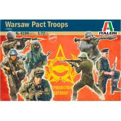 Tropas del Pacto de Varsovia años 80.