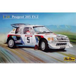 Peugeot 205 EV 2. HELLER 80716