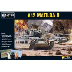 Tanque de infantería A12 Matilda II. Bolt Action.