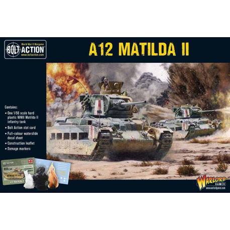 A12 Matilda II infantry tank. Bolt Action.