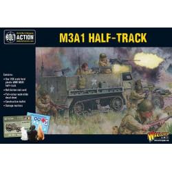 M3A1 Half-track. Bolt Action.
