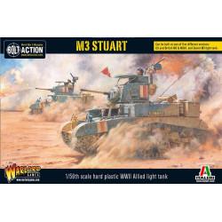 M3 Stuart. Bolt Action.
