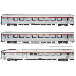 "3-unit pack ""TEE L'Arbelete"", SNCF."